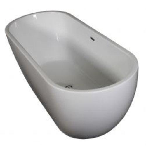 Wavedesign Vrijstaand ligbad Linda 170X70X46 cm wit
