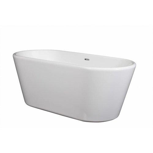 Wavedesign Vrijstaand ligbad Gloria 180X85X46 cm wit