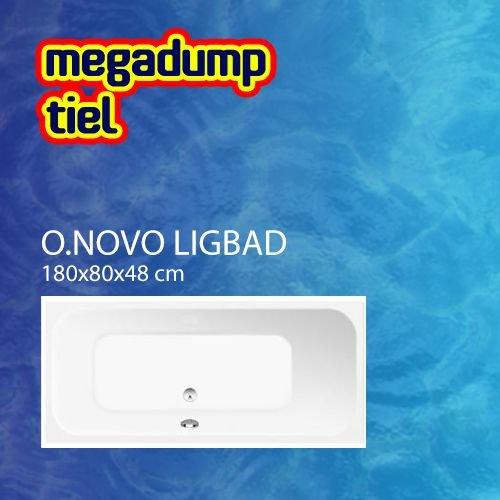 Ligbad O.Novo 180X80X48 Cm Wit