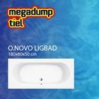 Villeroy en Boch Ligbad O.novo 180X80X50 cm wit