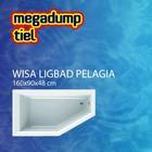 Wisa Wavedesign Ligbad Pelagia 160X90X48 cm