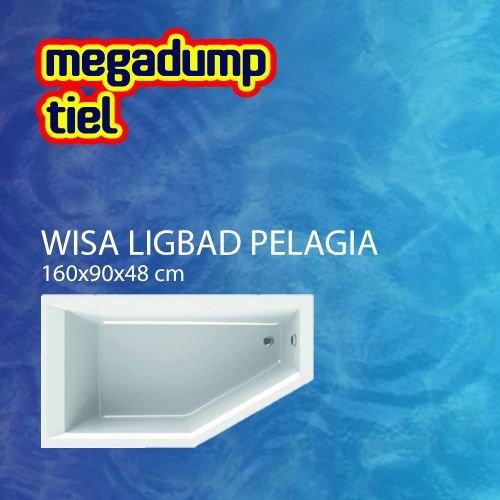 Wavedesign Ligbad Pelagia 160X90X48 cm