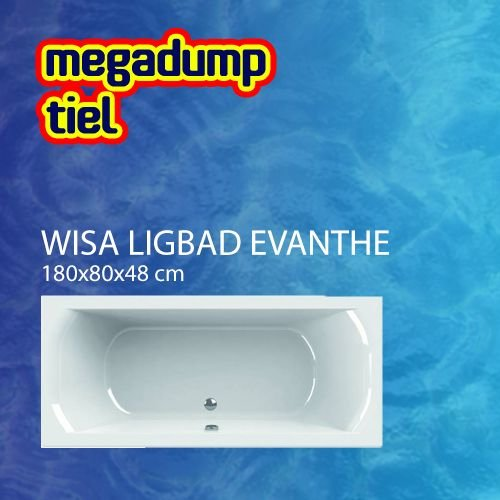 Wavedesign Ligbad Evanthe 180X80 cm