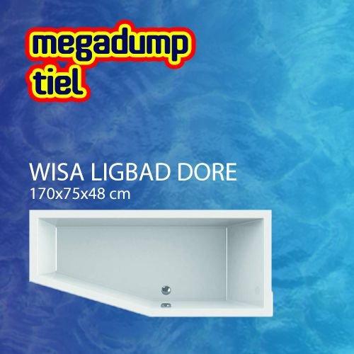 Wavedesign Ligbad Dore 170X75X48 cm