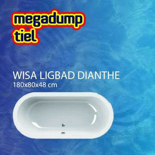 Wavedesign Ligbad Wavedesign Dianthe Wit 180X80X48 cm