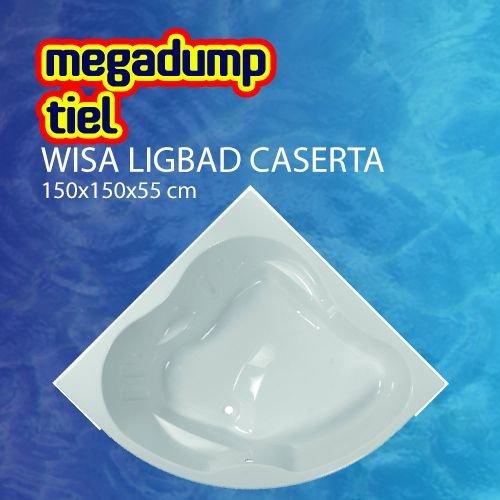 Ligbad Caserta 150X150X55 Cm Wit