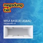 Wisa Wavedesign Ligbad Basilia wit