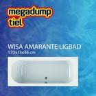 Wisa Wavedesign Ligbad Amarante wit