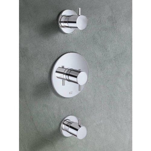 Hotbath Laddy Inbouw Thermostaat Met 2 Stopkranen 007R