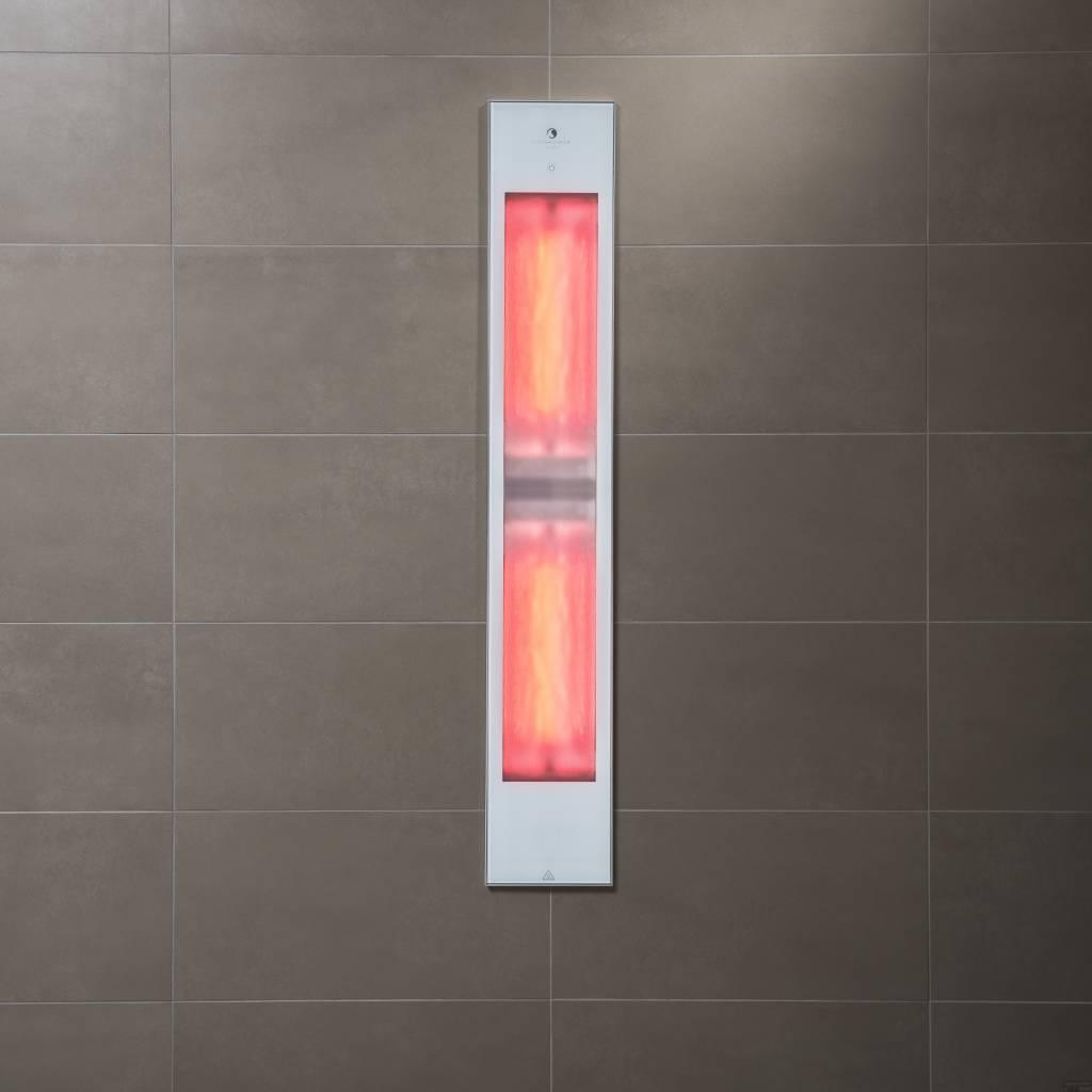 Sunshower Pure White XL Infrarood Inbouwapparaat 19.9X123.8X10 Cm ...