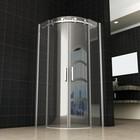 Aqua Splash Wiesbaden Douchecabine Kwartrond 90x90x200 Cm 8 Mm Anti Kalk Nano Glas
