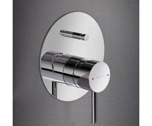Inloopdouche Met Badkraan : Hotbath buddy inbouw douche badmengkraan met automatische