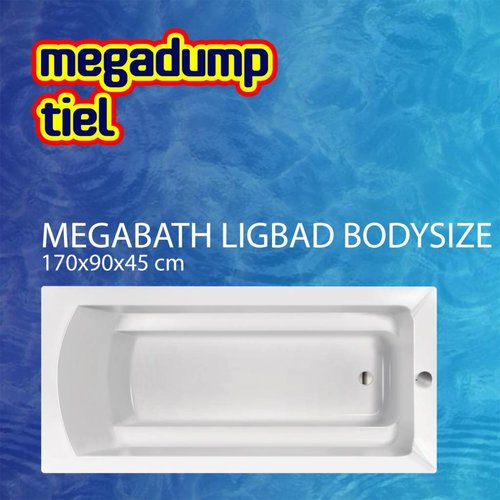 Ligbad Bodysize 170X90X45 Cm