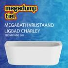 MegaBath Vrijstaand Ligbad Charley 180X80X60 Cm