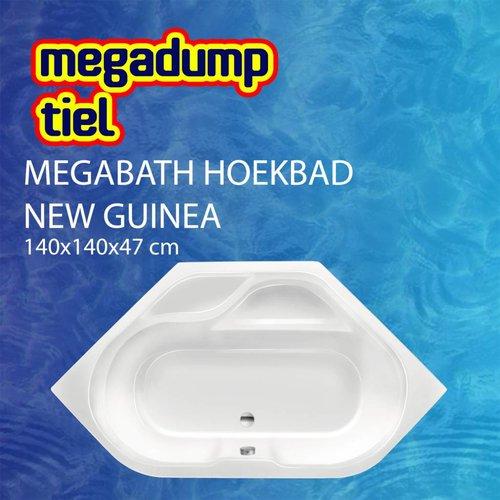 Hoekbad New Guinea 140X140X47 Cm