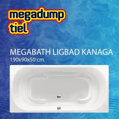Ligbad Kanaga 190X90X50 Cm
