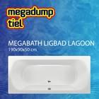 MegaBath Ligbad Lagoon 190X90X50 Cm
