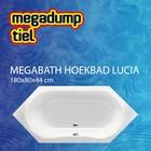 MegaBath Hoekbad Lucia 180X80X44 Cm