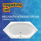 MegaBath Hoekbad Orona 190X90X50 Cm