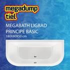 MegaBath Ligbad Principe Basic 180X80X50 Cm