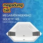 MegaBath Hoekbad Society 145 145X145X50 Cm