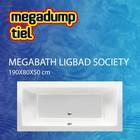 MegaBath Ligbad Society 190X80X50 Cm