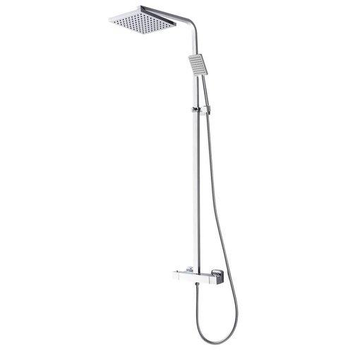 Aqua Splash Rombo-Eco Regendouche Opbouwset Chroom