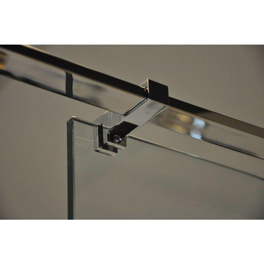 Glaskoppeling zijkant stabiliastiestang chroom
