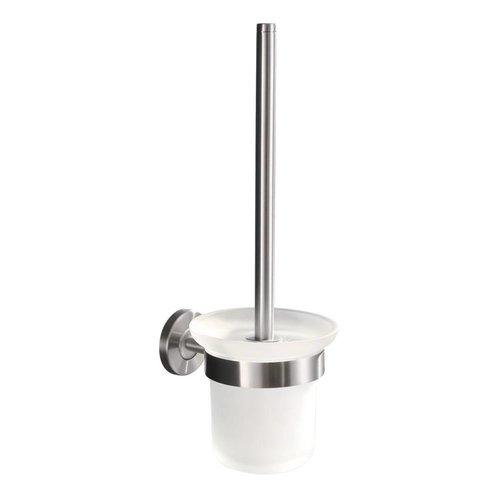 Aqua Splash 304-toiletborstelhouder + borstel RVS