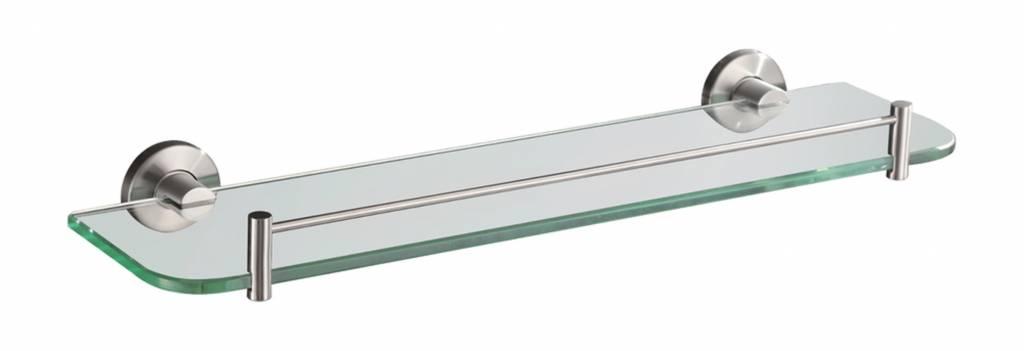 304-Glazen Planchet 54Cm Rvs