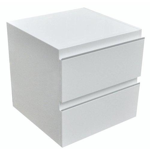 Ladekast 450X450 Hoogglans Wit Gelakt