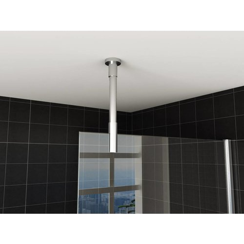Stabilisatiestang plafondbevestiging rond 100cm inkortbaar