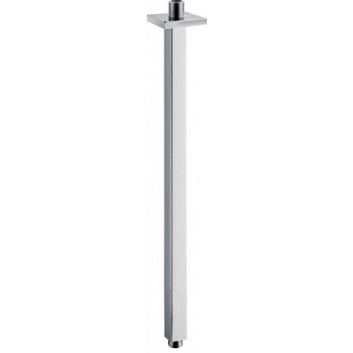 Aqua Splash Luxe douche arm vierkant plafondbevestiging 40cm chroom