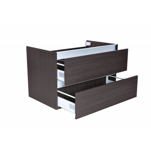 Aqua Splash Onderkast Vision Trendline 80x47 Grey Oak (2 laden)