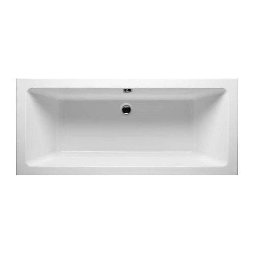 Aqua Splash Ligbad Duo Santino inbouw 190x90x49 cm Wit