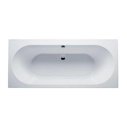 Aqua Splash Ligbad Duo Portus Inbouw 180x80x50 cm Wit