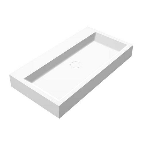 ADW Design Wastafel Opera-80 Just Solid Surface 80X42X10Cm