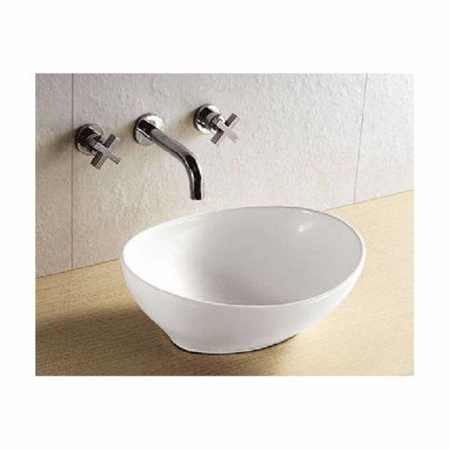 Aqua Splash Opzetwastafel Barco 40x33x14,5 cm