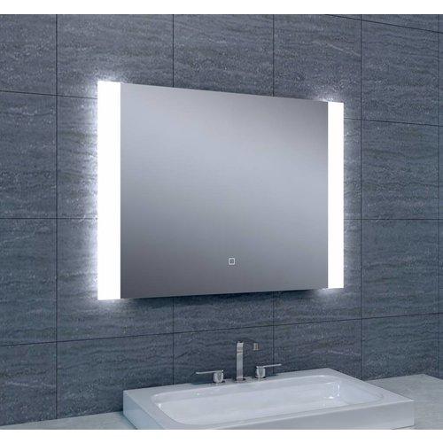 aqua splash spiegelkast met led verlichting 90x60 aluminium spiegels megadump tiel. Black Bedroom Furniture Sets. Home Design Ideas