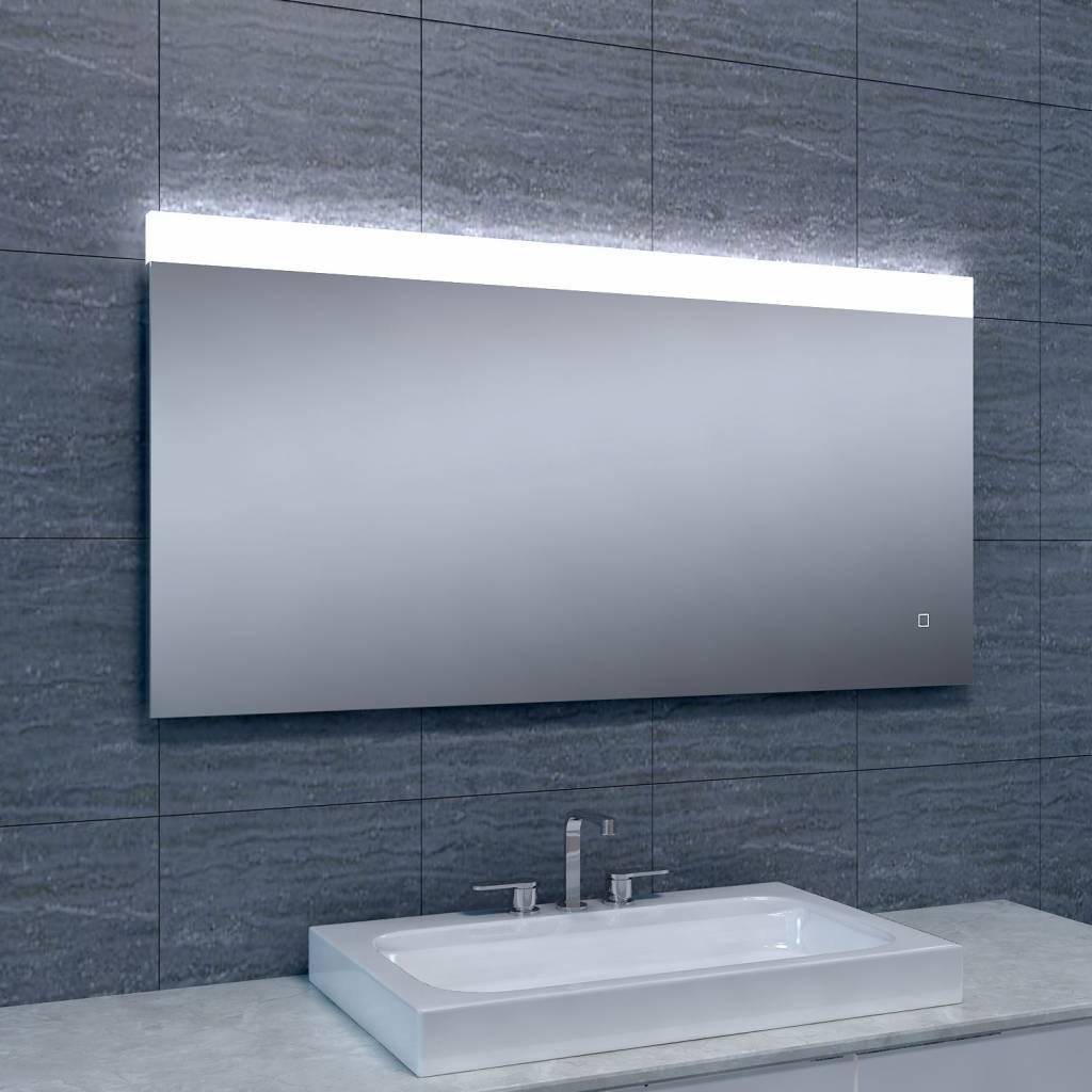 Aqua splash spiegel single dimbare led 60x120 cm for Spiegel 60x120