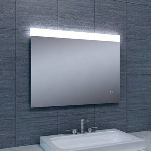 aqua splash spiegel single dimbare led 60x80 cm spiegels megadump tiel. Black Bedroom Furniture Sets. Home Design Ideas
