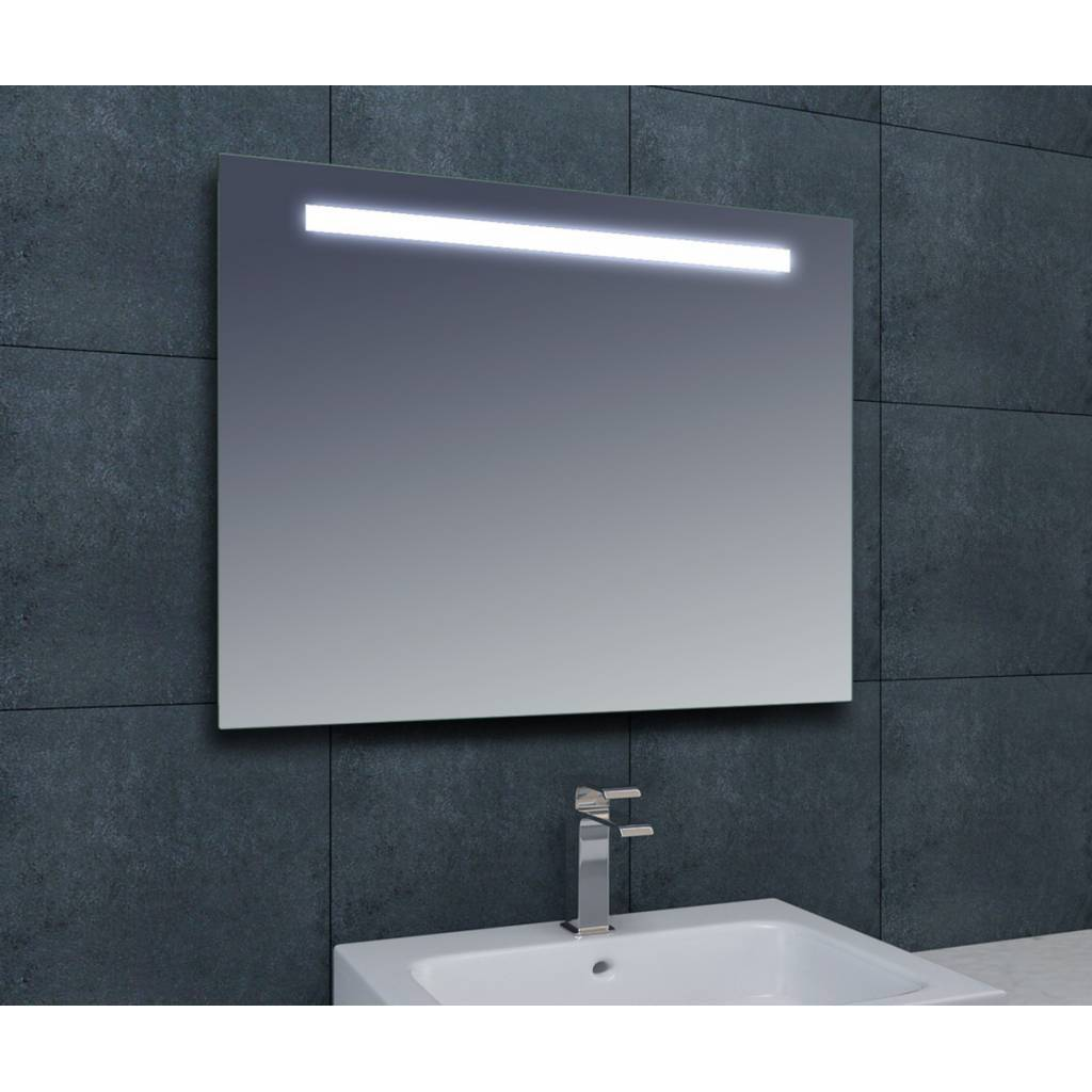 Aqua splash themis spiegel met led verlichting 1400x800 for Miroir 130 x 80
