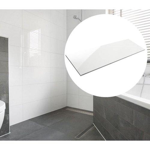 Wandtegels Mat Wit 30X90cm Gekalibreerd P/m²