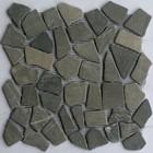 J-Stone Grey marmer scherven getrommeld mixed maten, Getrommeld / verouderd P/Matje