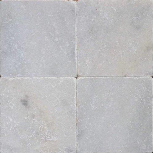 J-Stone Wit marmer anticato 20x20x1, Getrommeld / verouderd P/M²