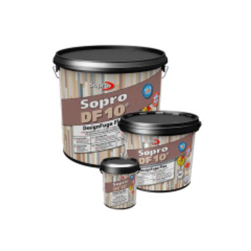 Voegmortel Sopro DF 10 Flexibel zandgrijs 5kg, P/5 kg verpakking