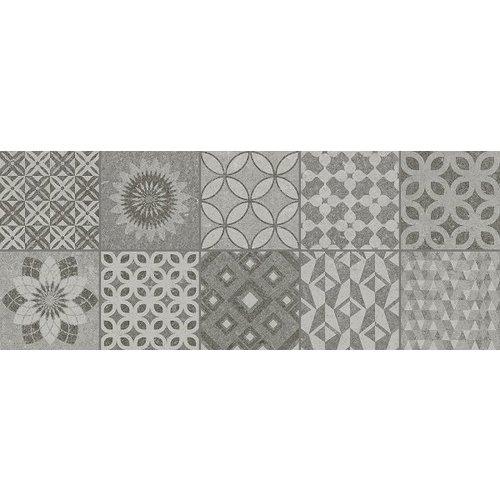 Metropoli Grey Decor Isole 20X50, Mat P/M²