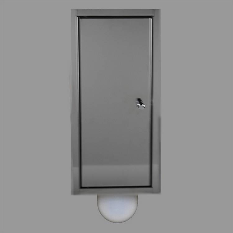 Inbouw toilet borstel brush up 3 kleuren verkrijgbaar megadump tiel - Kleur muur wc ...