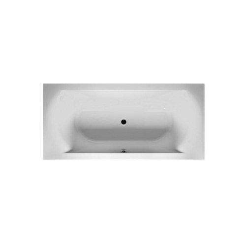 Ligbad Linares 180X80 Velvet White (Mat Wit)