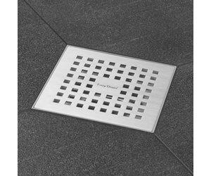 Plieger Ventilator Badkamer : Plieger douche put easy drain aqua met zijuitlaat 10x10cm rvs